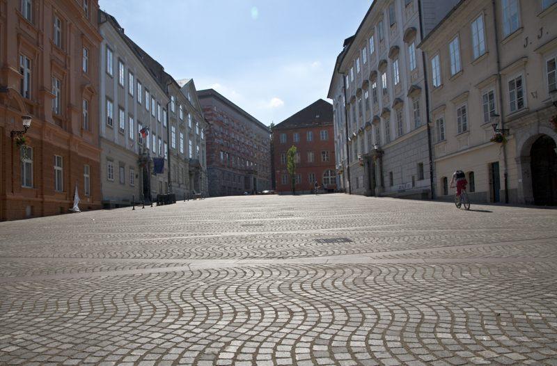 Adamičevo nabrežje Ljubljana