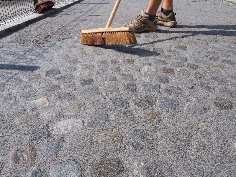 Čiščenje fugirane površine